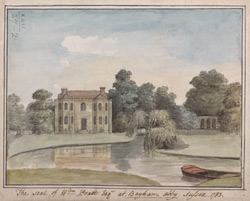 The Seat of Wm Pratt Esq. at Bayham Abby, Sussex, 1783